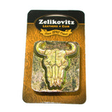 Buffalo Skull 3-D Leathercraft Stamp 88312-00