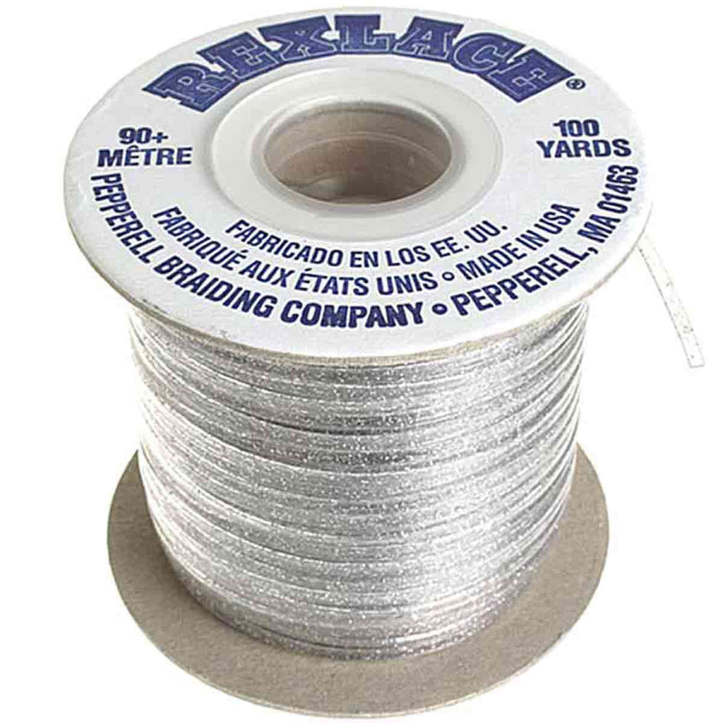 "Plastic Craft Lace 3/32"" X 100 Yds - 18 Colors"