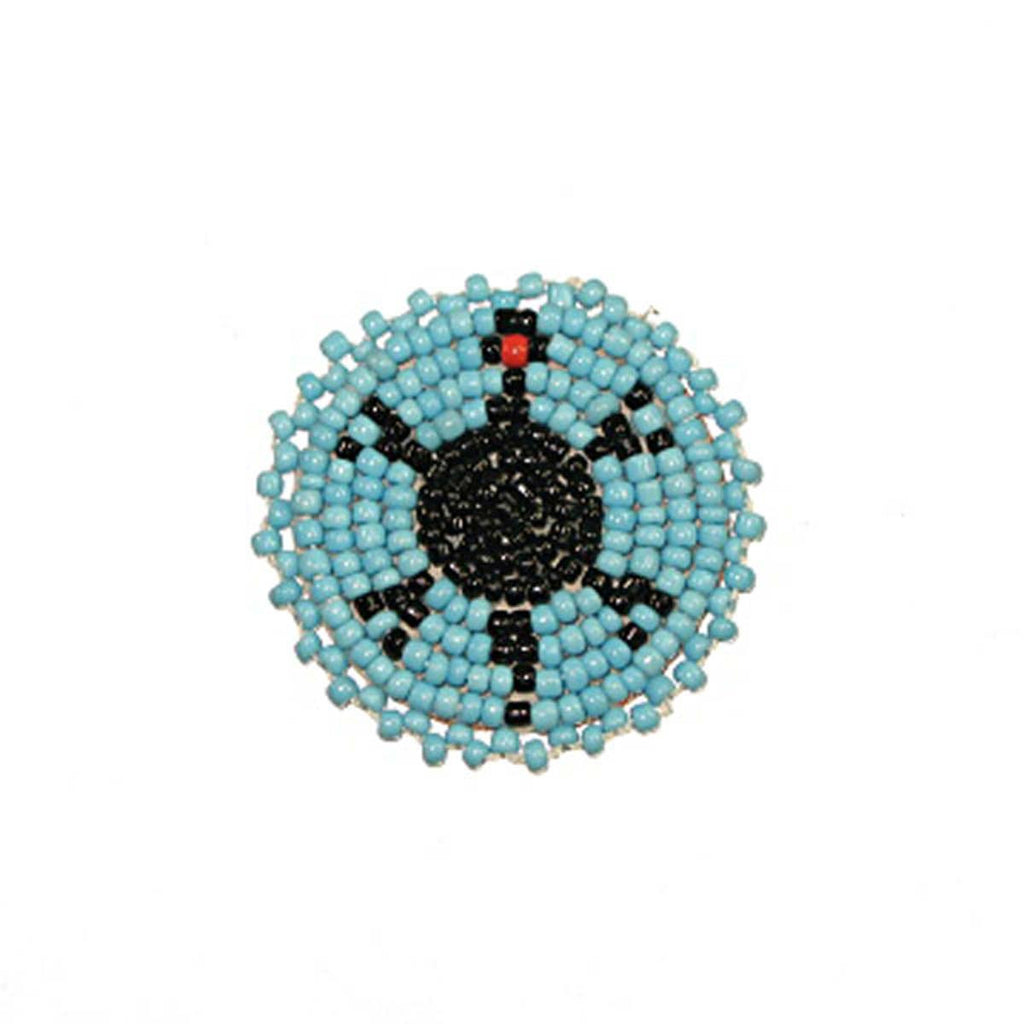 Beaded Turtle Rosettes 1-1/2""