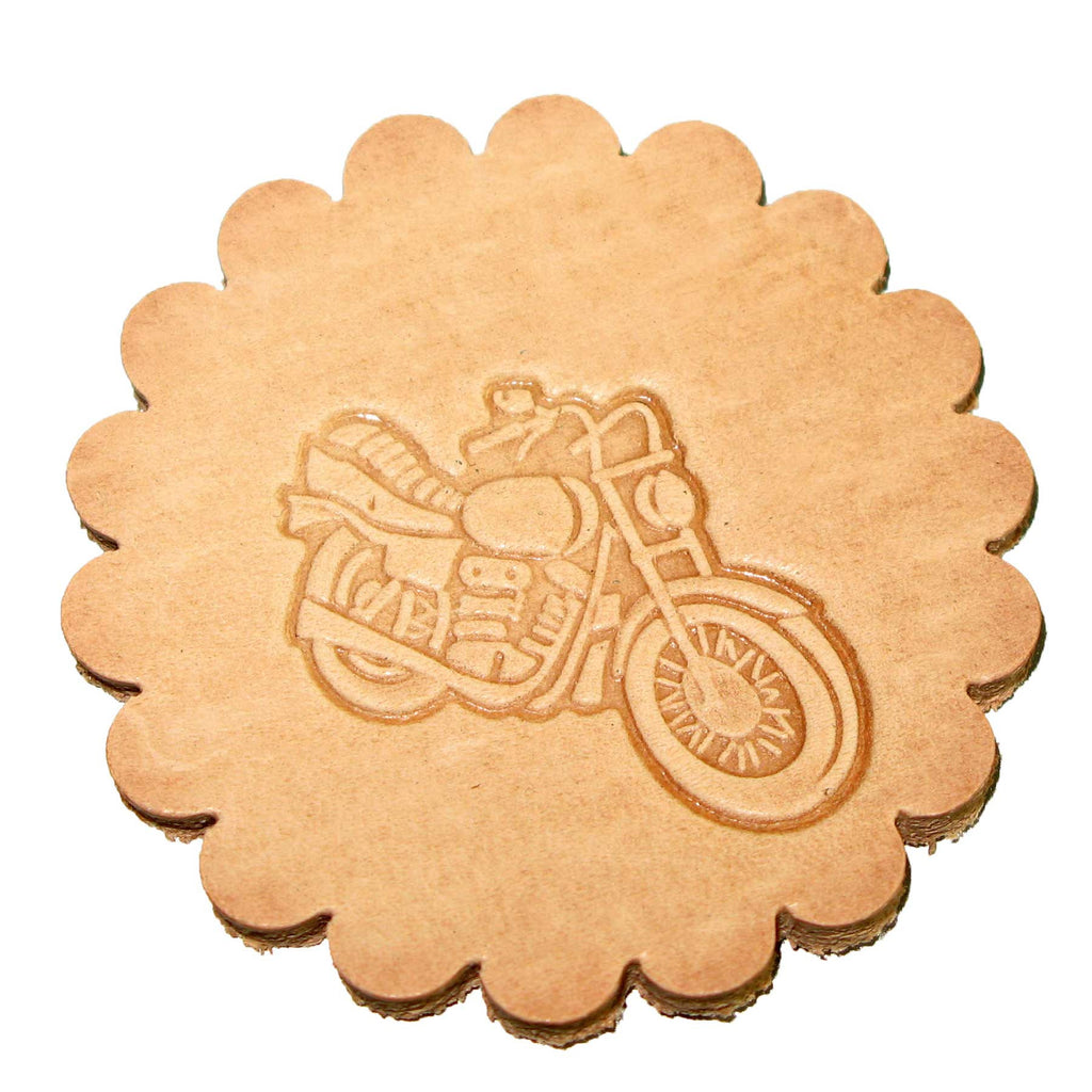 Motorcycle 3-D Leathercraft Stamp 88352-00