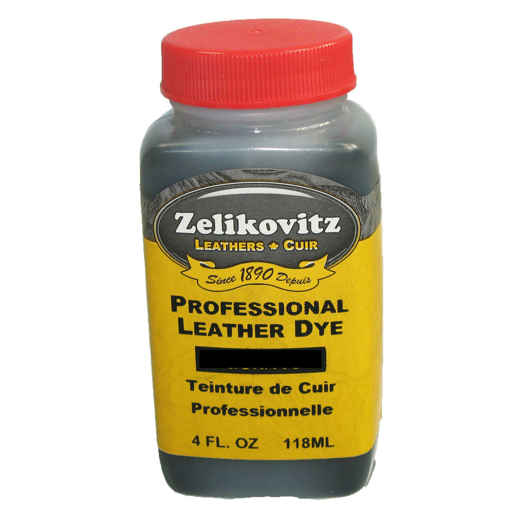 Zeli Pro Waterbased Leather Pigment Dye 4 Ounce Bottles 12 Leather Paint Colors
