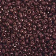 Image of 65201585 - 8/0 Dark Brown Seedbead  40 grams