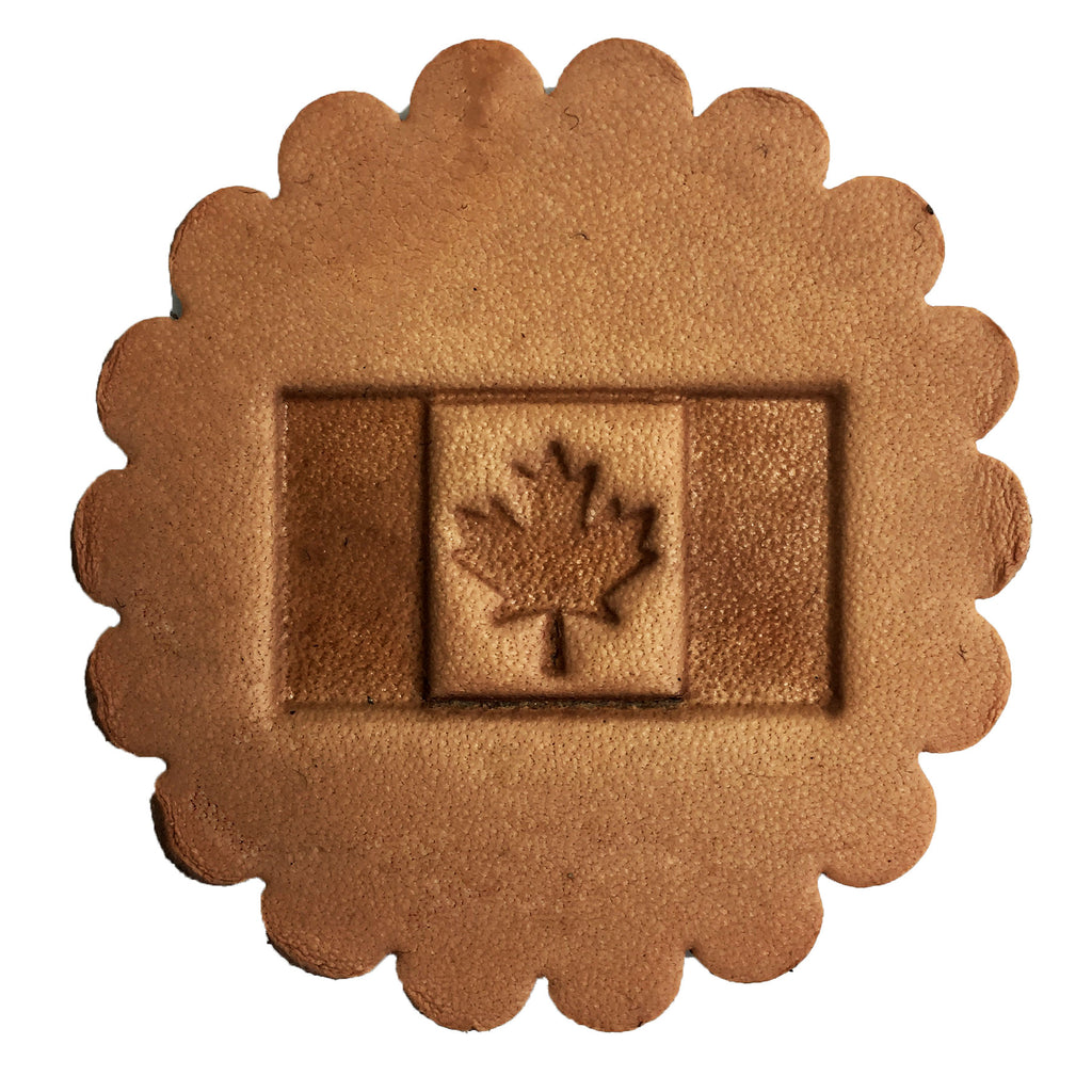 3D Leathercraft Stamp Canadian Flag 8576-00