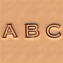 "Image of 4909-00 - 1/4"" Alphabet Stamp Set Open Face 4909-00"