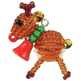 Image of 690KIT0-NO44 - Beaded Reindeer Ornament Kit