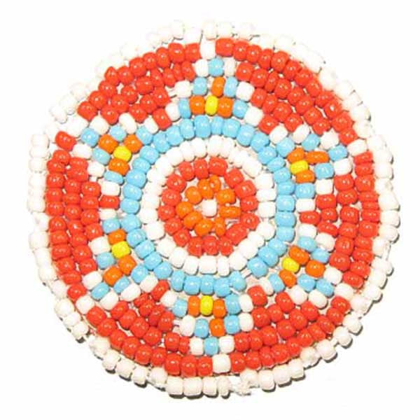 Image of 8540-158-081 - Beaded Star Rosettes 1-1/2""