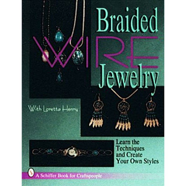 Image of 978-0-88740-867-2 - Braided Wire Jewelry