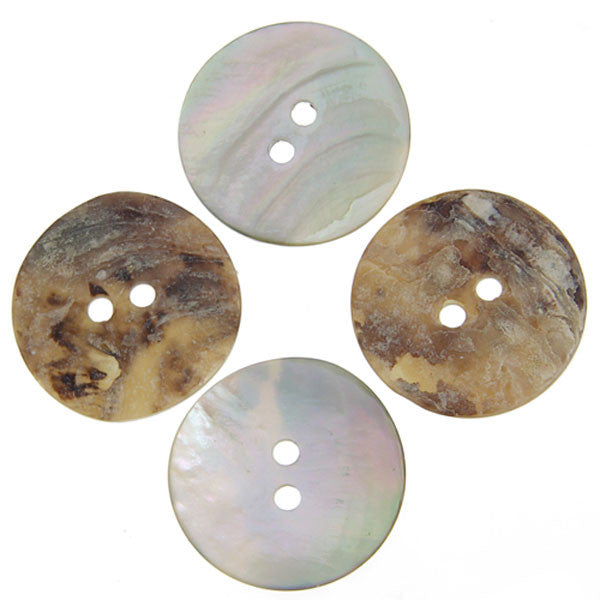 Button Shell Acoya 22mm 10 Pack
