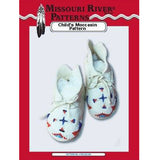 Image of 4799-500-206 - Child's Plains Style Moccasins Pattern