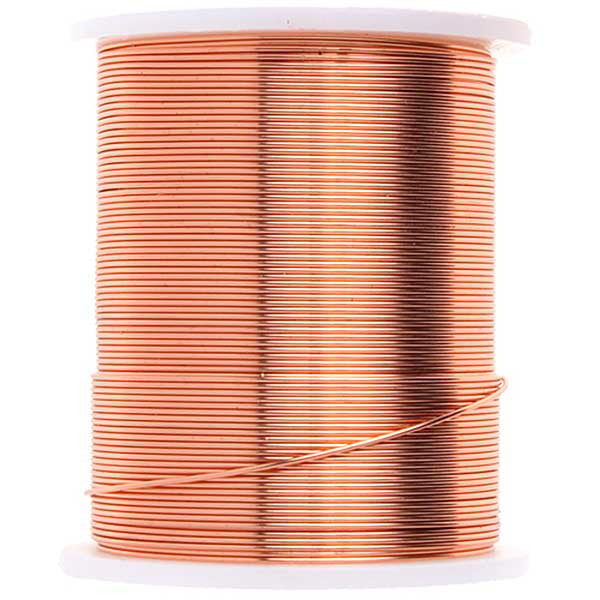 Copper Beading Wire 24 Yards - 26 Gauge
