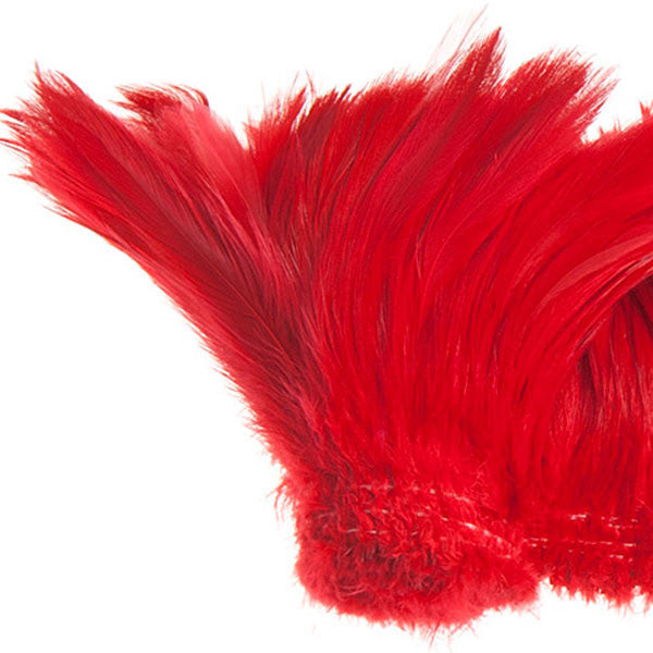 "Image of 78024030-03 - Coque Hackle 4"" - 6"" Red"