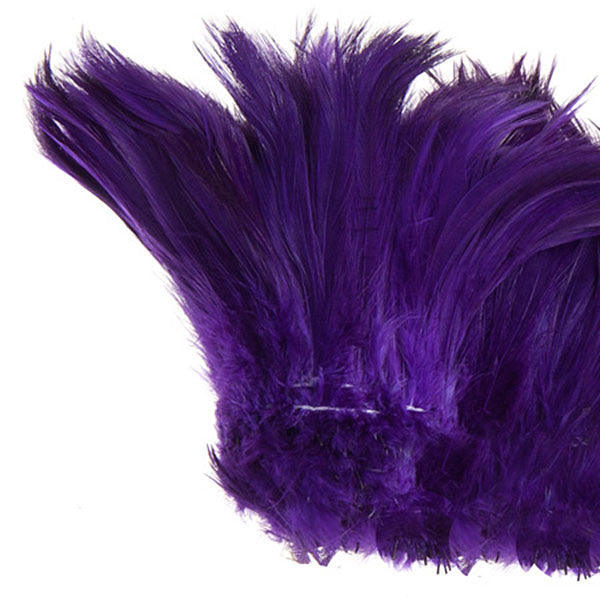 "Image of 78024030-04 - Coque Hackle 4"" - 6"" Purple"