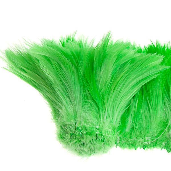 "Image of 78024030-09 - Coque Hackle 4"" - 6"" Lime Green"