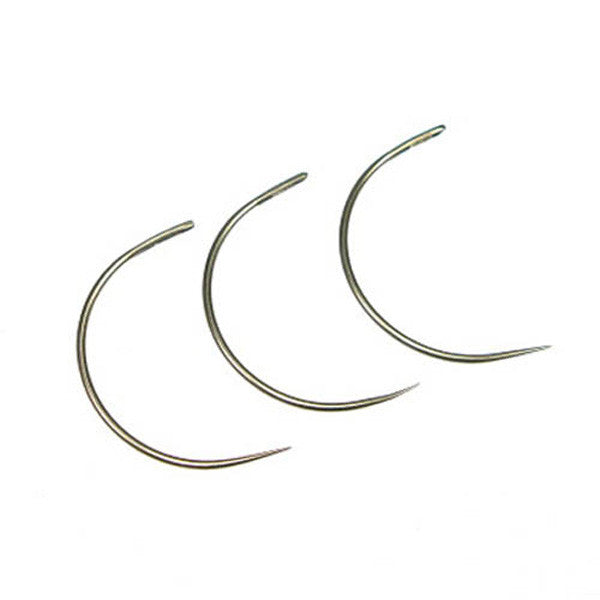 Curved Round Point Needle - 3 Pack
