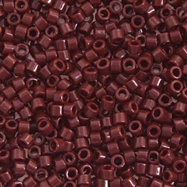 Delica 11/0 RD Brown Currant Opaque