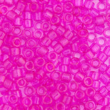 Image of 690DB00-1310V - Delica 11/0 RD Fuchsia Transparent Dyed