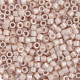 Image of 690DB00-1535V - Delica 11/0 RD Pink Champagne Opaque Ceylon