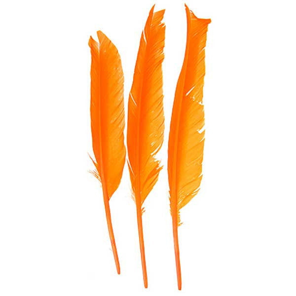 "Image of 78003007-05H - Duck Quill 12 Pack 7"" Orange"