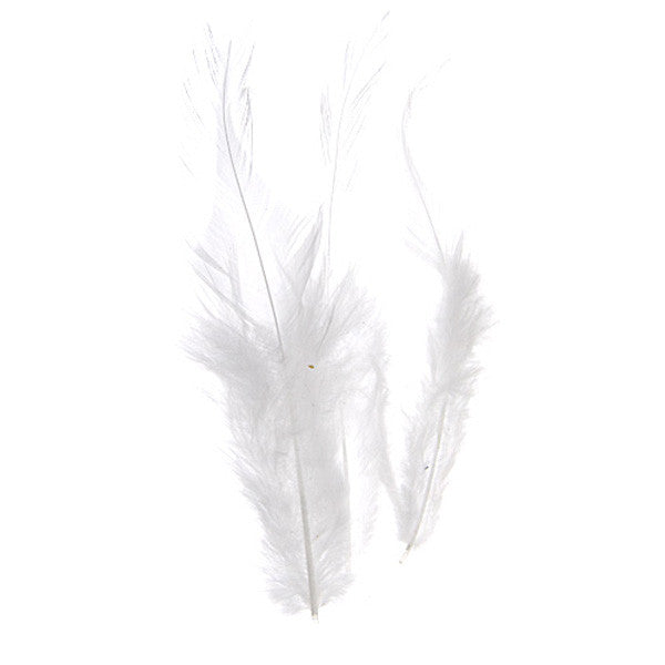 Image of 78003017-00H - Dyed Saddle Hackles 3 Grams White