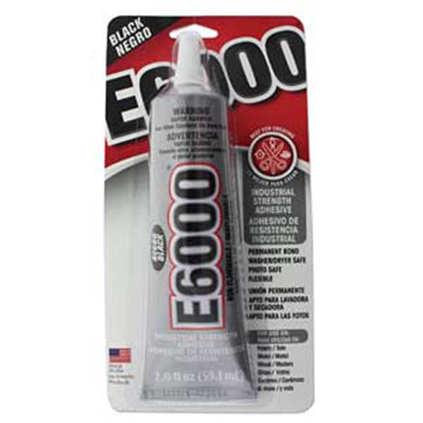E6000 Craft Adhesive 2oz Black