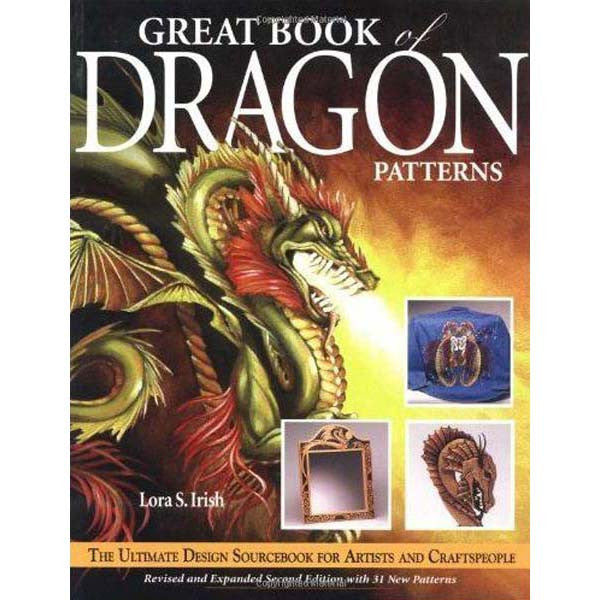 Image of 978-1-56523-231-0 - Great Book of Dragon Patterns Book