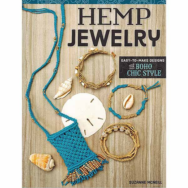 Image of 978-1-5048-0015-0 - Hemp Jewelry