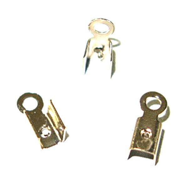 Image of 24011305 - Leather Crimps Medium Nickel 100 pack