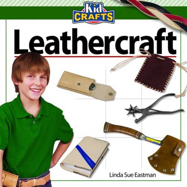 Image of 978-1-56523-370-6 - Leathercraft - Kids Crafts