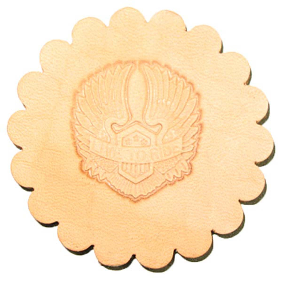 Image of 8540-00 - Motorcycle Wings 3-D Stamp 8540-00