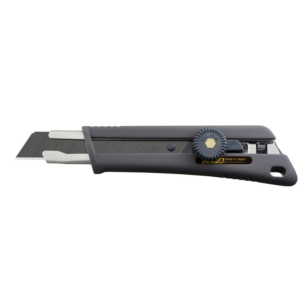 OLFA (NOL-1/BB) Rubber grip ratchet-lock utility knife #1118008