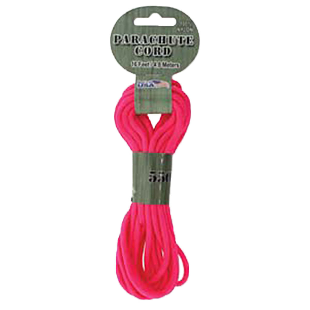 Paracord 550 16ft  4.8M Neon Pink
