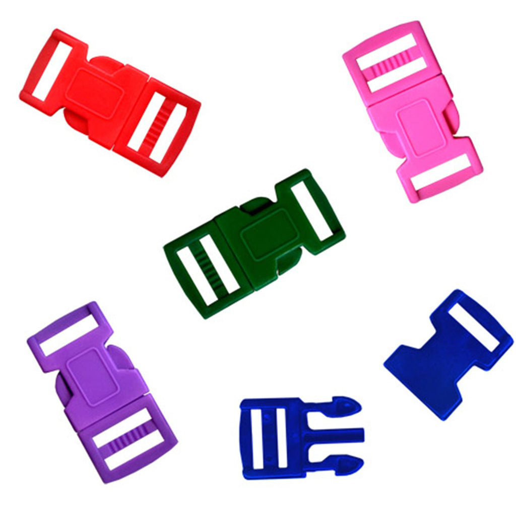 Paracord 12 mm Colored Buckles 5 Pack