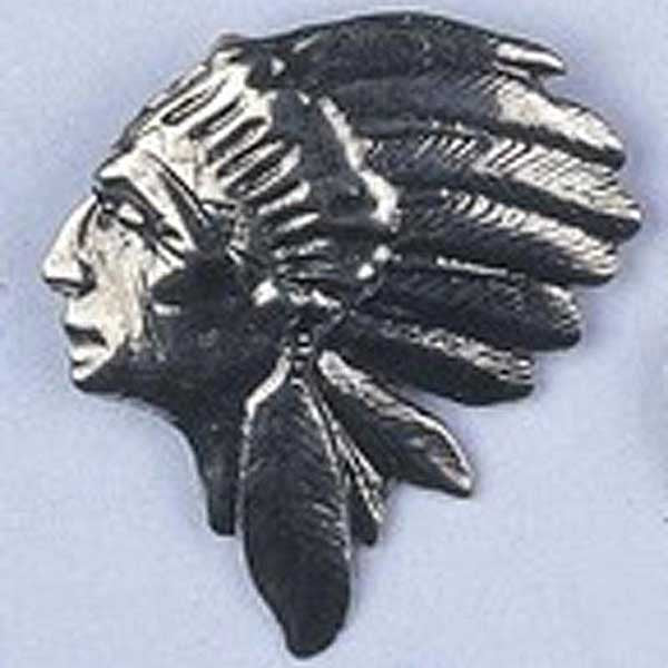 Image of 32629744 - Pendant Native Head Silver