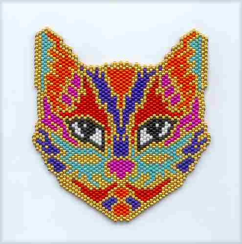 Image of 39-15 - Psy-Cat-ic Tapestry Pattern