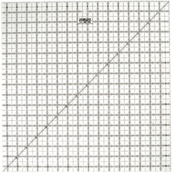 "Image of QR-16S - QR-16S 16 1/2"" Square Frosted Acrylic Ruler"