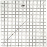 "OLFA (QR-16S) 16 1/2"" Square Frosted Acrylic Ruler #1071800"