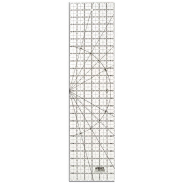 "OLFA (QR-6X24) 6"" x 24"" Frosted Ruler #1071820"