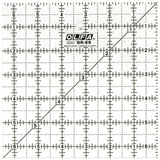 "OLFA (QR-6S) 6 1/2"" Square Frosted Acrylic Ruler #1071798"