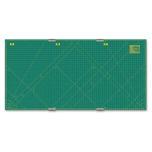 "OLFA (RM-CLIPS-3) 35"" x 70"" Continuous Grid Mat Set #9894"