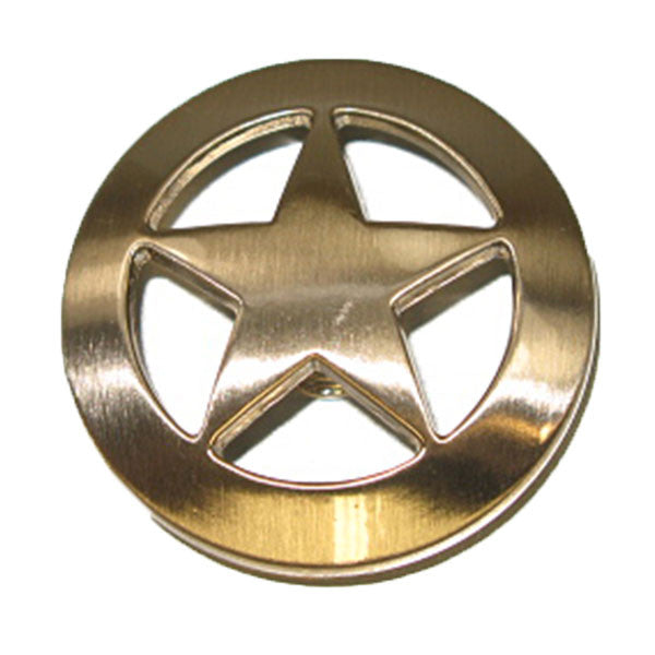 "Ranger Star Concho 1-1/2"" Silver Plated  7994-05"