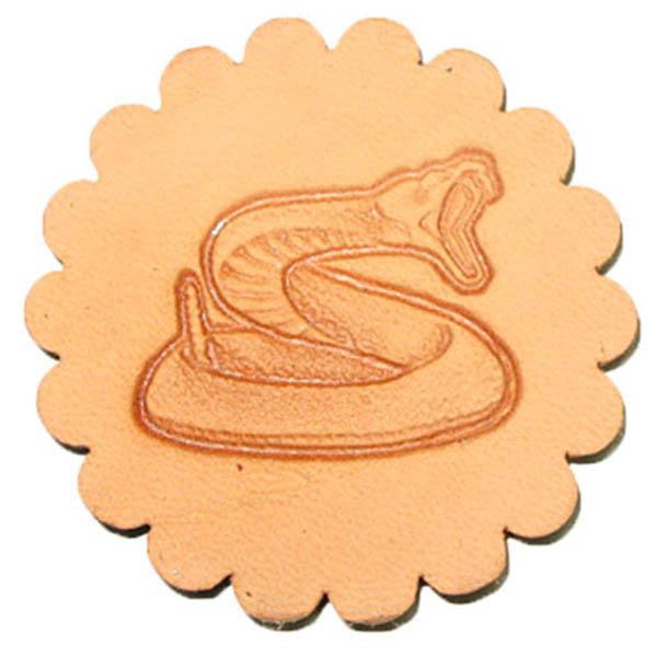 Image of 88318-00 - Rattlesnake 3-D Stamp 88318-00
