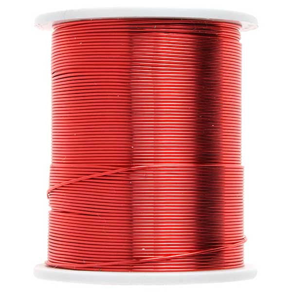 Red Copper Beading Wire 24 Yards - 26 Gauge