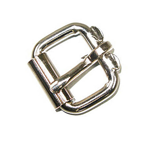 "Image of 1521-00 - Roller Buckle 3/4"" (1.9 cm) Nickel Plated"
