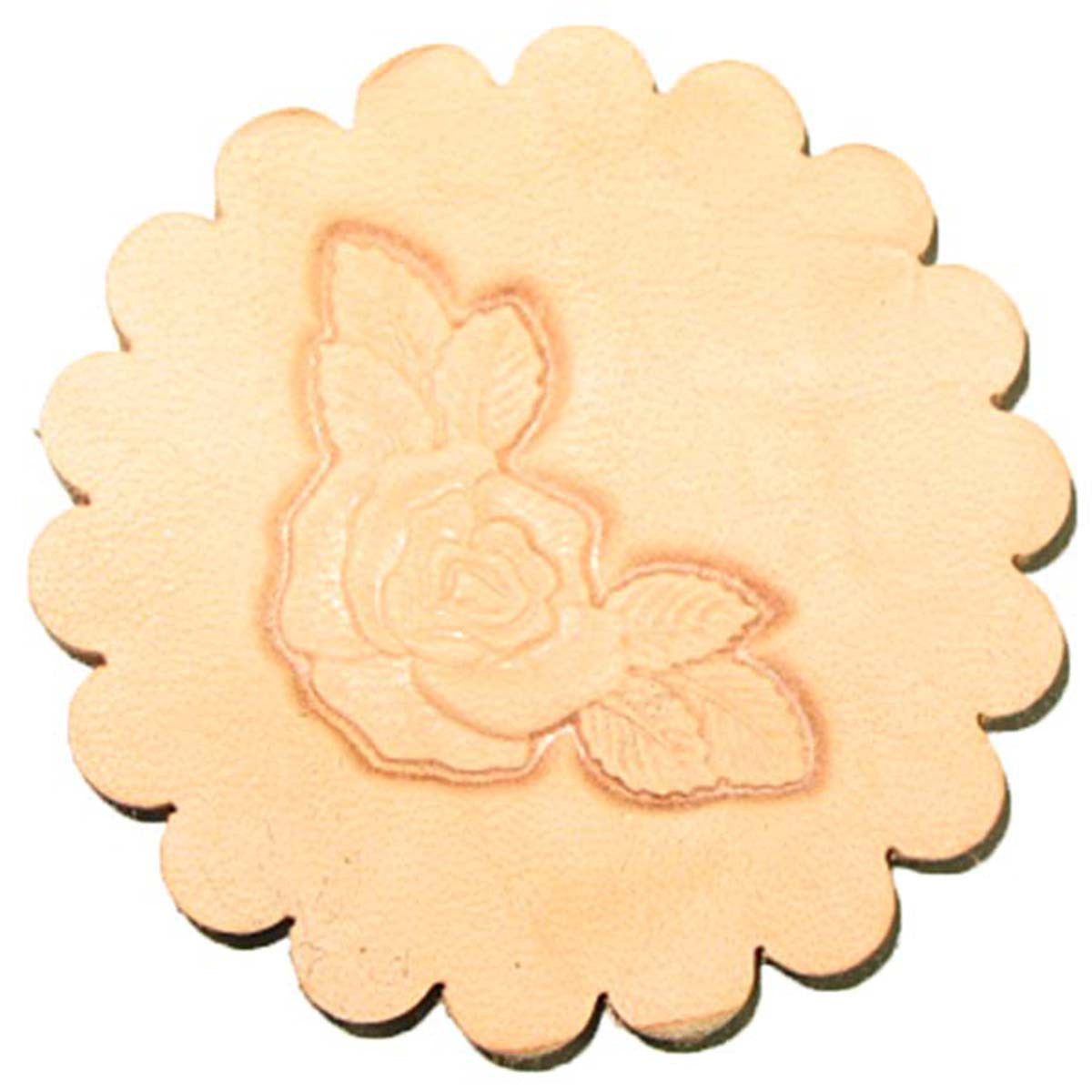 Image of 8534-00 - Rose Corner 3-D Stamp 8534-00