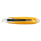 OLFA (SK-9) Self-Retracting Safety Knife with Tape Slitter #1086095