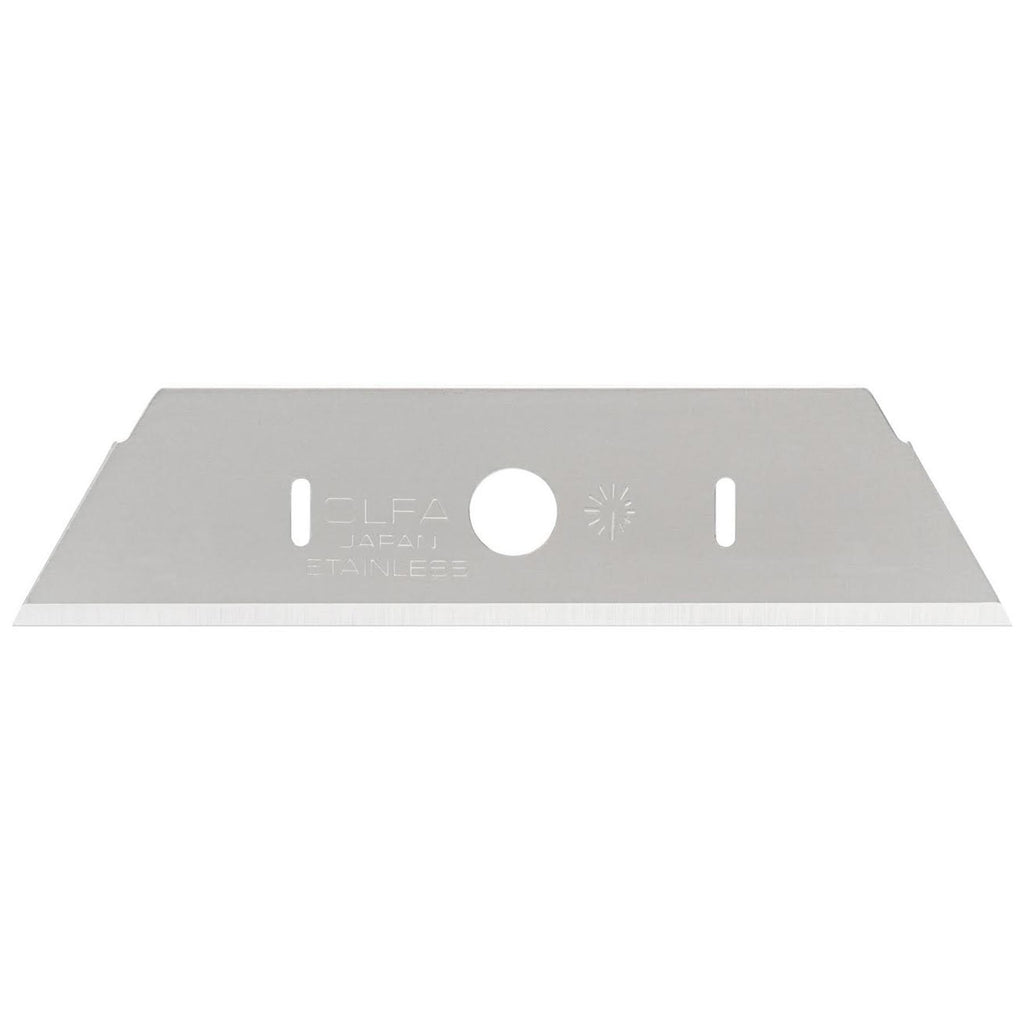 OLFA (SKB-2S-10B)  Stainless Steel HD Trapezoid Safety Blade - 10 Pack #1117957