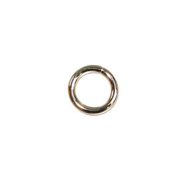 Solid Welded O Ring Nickel Plated 10/pk - 5 Sizes