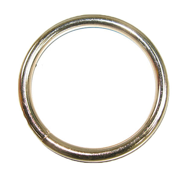 Solid Welded O Ring Nickel Plated - 3 Sizes