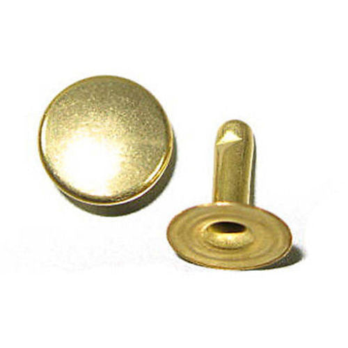 Rapid Rivets XL 11mm Cap 10mm Post Gilt Speedy
