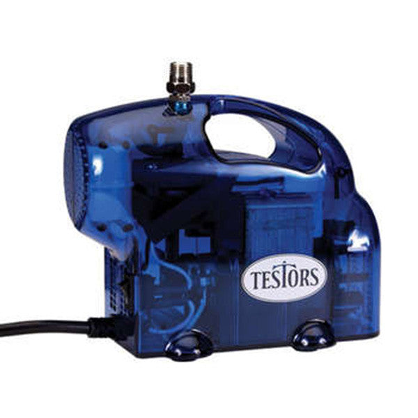 Testors Blue Mini Airbrush Compressor